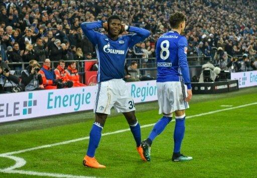 Breel Embolo mit dem 2:0 für Schalke 04