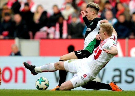 Der 1. FC Köln kam nicht über ein 1:1 hinaus