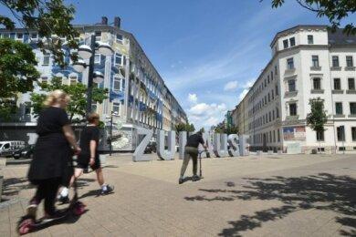 Wie soll das Leben von 3000 Einwohnern am Brühl künftig aussehen? Dazu wurden die Bewohner des Stadtteils befragt.