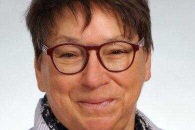 Ute Brückner kandidiert für die Linkspartei für das Amt des Zwickauer Oberbürgermeisters.