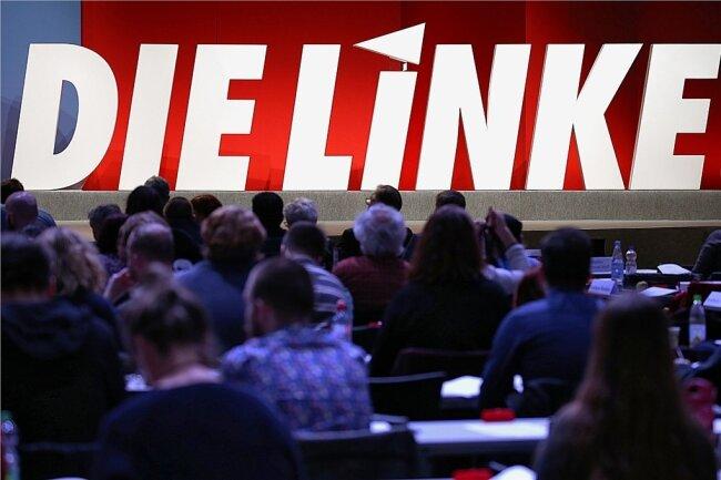 Die sächsischen Linken wollen am Samstag ihre Landesliste für die Bundestagswahl im September aufstellen. Foto: Oliver Berg/dpa/Archiv