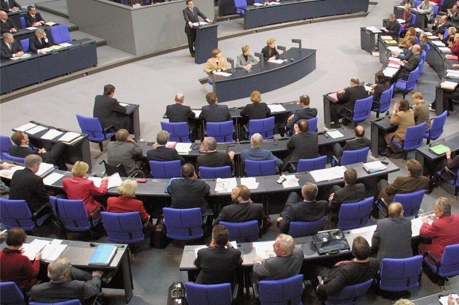 Blick in den Plenarsaal: Am 26. Oktober tritt der neue Bundestag erstmals zusammen.
