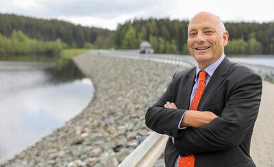 Heinz Gräfe - Geschäftsführer der Landestalsperrenverwaltung (LTV)