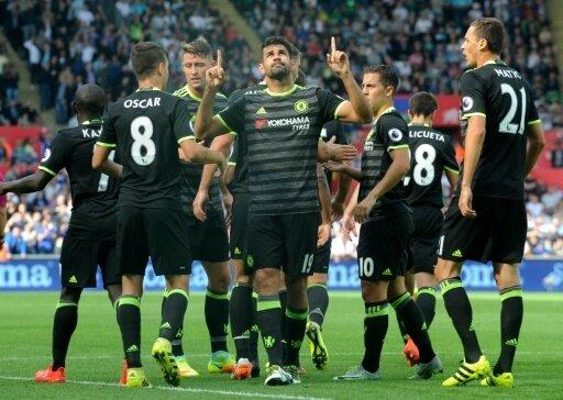 Diego Costa rettet den Blues mit zwei Toren einen Punkt