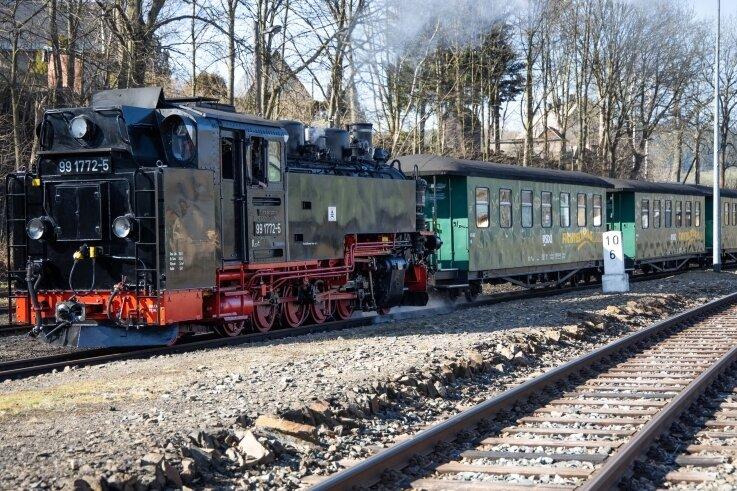 Fichtelbergbahn stellt Betrieb ein