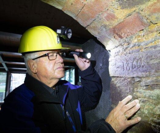 Der sogenannte 1860er-Keller gehört zu jenen Kellern, die in den nächsten Jahren restauriert werden sollen. Doch noch fehlt das Geld.