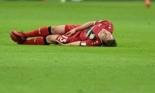 Julian Baumgartlinger verletzte sich am linken Knie