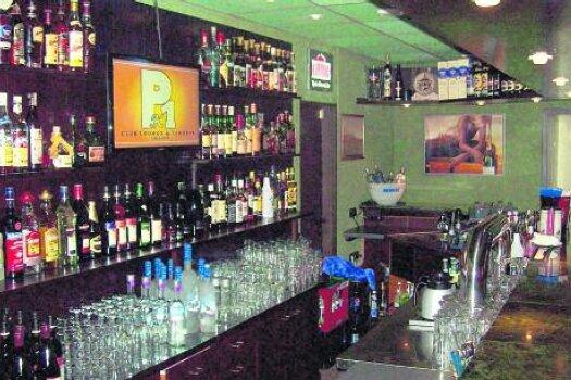 """Die Bar im """"PK 1"""" ist gut gefüllt. Immer freitags und samstags hat sie geöffnet. Mehr Bilder gibt es unter www.pk-eins.de ."""