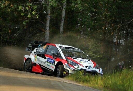 Tänak steht vor Sieg bei der ADAC Rallye Deutschland