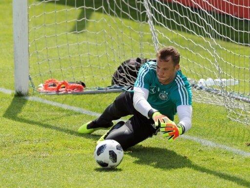 Manuel Neuer steht nach langer Pause vor dem Comeback
