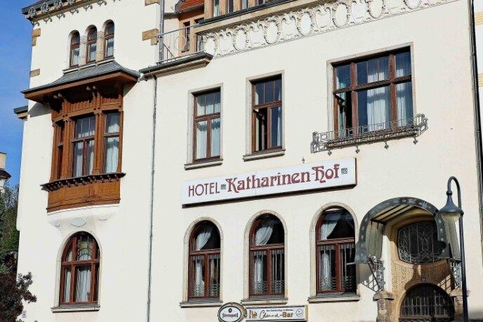"""Der Verein hat seinen Sitz im """"Katharinen-Hof"""". In dem Haus wird auch die Sammlung aufbewahrt."""
