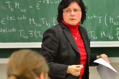 Swanhild Bernstein, erste Mathematik-Professorin in Freiberg: Mathematiker lesen nicht vor, sondern schreiben an.