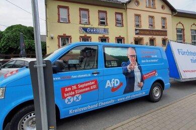 Am 5. Juni fand in Chemnitz der Kreisparteitag der AfD statt. Das Hauptthema war die Nachwahl des zweiten Kreisvorsitzenden.