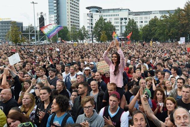 #wirsindmehr in Chemnitz: Mehr 22.000 Euro Spenden gesammelt