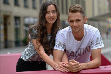 Marvin Schlegel mit Freundin Lilly