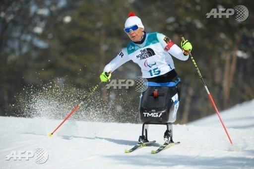 Andrea Eskau holt Gold im Biathlon über 10 km