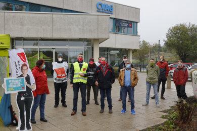 Die Gewerkschaft Verdi rief auch in Chemnitz zu einem ganztägigen Warnstreik im öffentlichen Nahverkehr der CVAG auf. Betroffen sind Strassenbahnlinien und auch einige Buslinien.