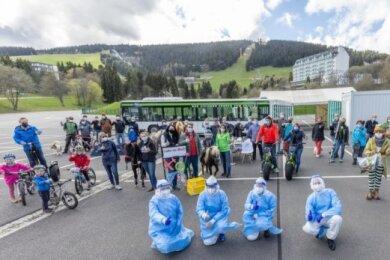 Sie haben monatelang für ihr Modellprojekt Covid-Exit Oberwiesenthal gekämpft. Nun ist Start - nur etwas kleiner.