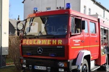 62 Feuerwehrleute und mehrere Fahrzeuge waren in Oberlichtenau im Einsatz.