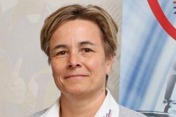 Die Kreissportbund-Geschäftsführerin Grit Nürnberger.