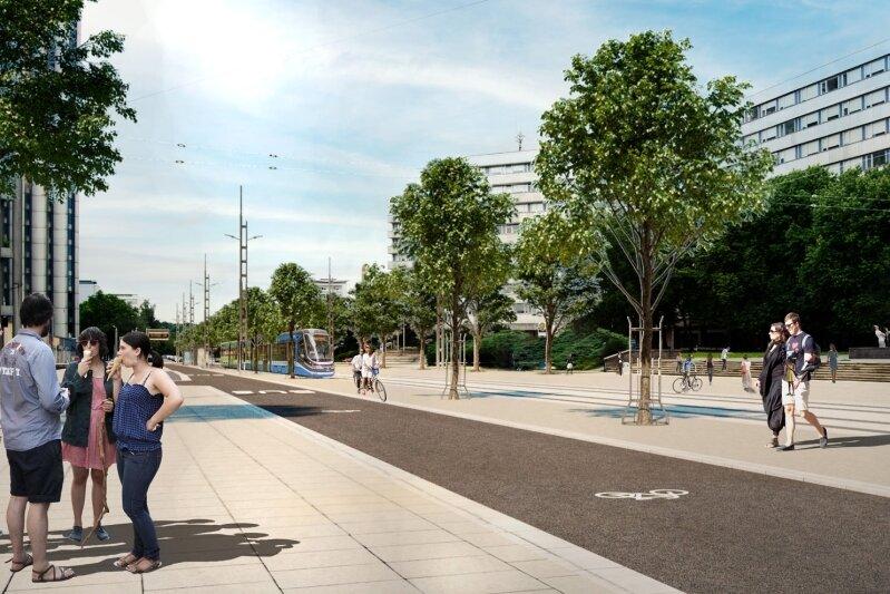 Chemnitzer Modell: So soll sich das Stadtzentrum verändern