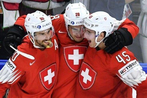 Die Schweiz gawann das Auftaktspiel gegen die Slowakei