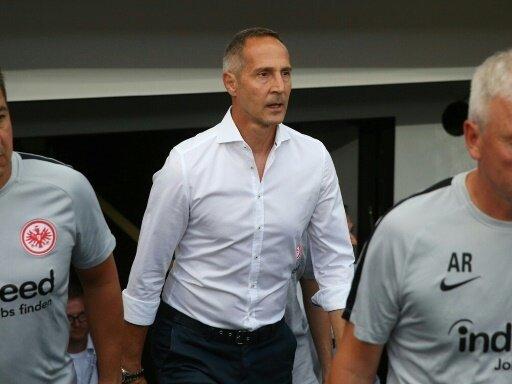 Pokal-Aus für Eintracht Frankfurt und Trainer Adi Hütter