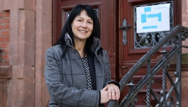 Yvonne Lenk wird nächstes Jahr als neue Geschäftsführerin die Geschicke des Trägervereins übernehmen.