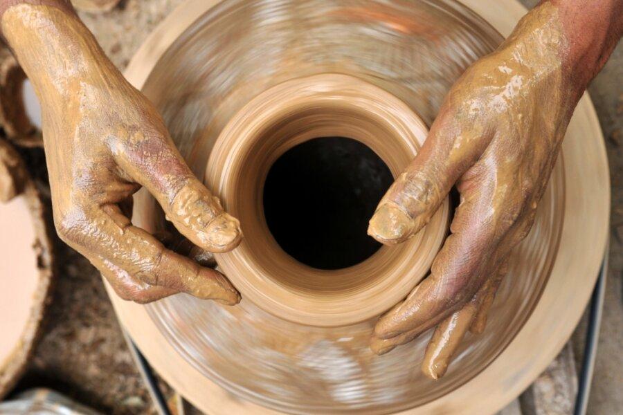 Handwerker zeigen ihre Künste