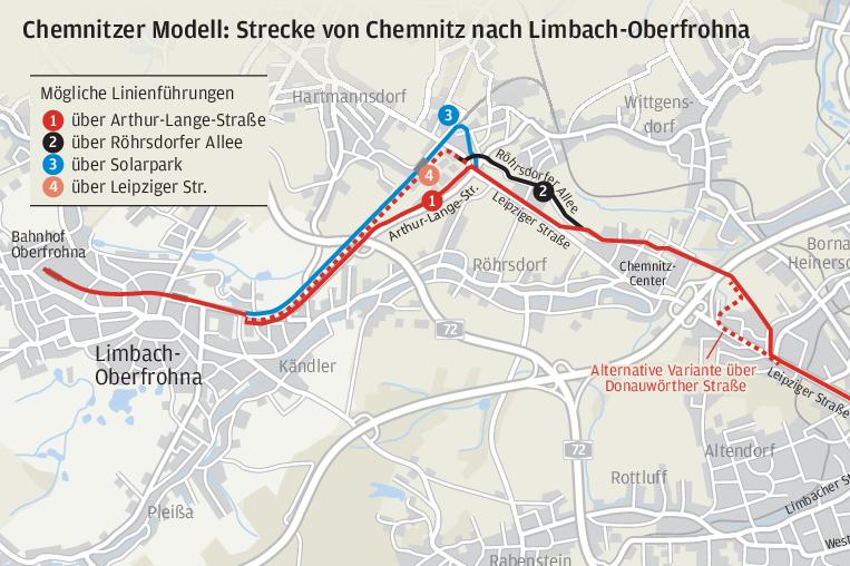 Neue Bahn soll an Röhrsdorf vorbeifahren