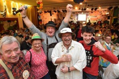Derartige Bilder wie hier im Februar beim Glösaer Carnevals-Verein wird es in diesem Jahr nicht zu sehen geben.