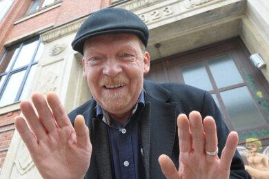 """Karsten Spehr organisiert das Bluesfestival. Er lädt die Bands dazu ins """"3-K-Haus"""" ein."""