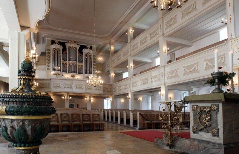 In den vergangenen Jahren wurde in der St.-Margarethen-Kirche fast ununterbrochen saniert.