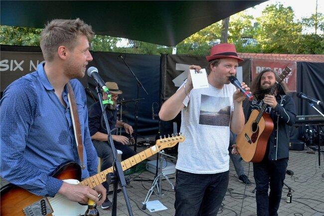 Christian Wenzel (2. von rechts) wird wie die Band Zami auch diesmal wieder beim Juniton-Festival auftreten.