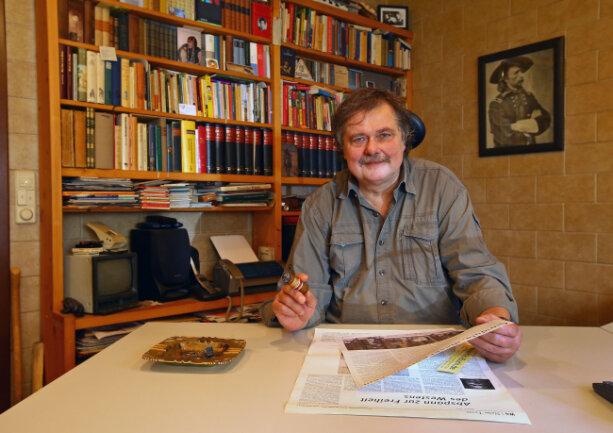 Geschichten waren sein Leben: Buchhändler und Autor Rainer Klis ist am Samstag gestorben.