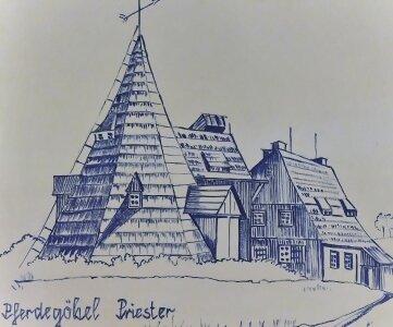 Eines der Bilder im Kohlhaus derGeorgenhütte Schneeberg.