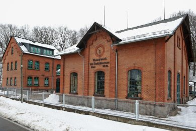 Das Wasserwerk in Kertzsch soll um eine neue Trinkwasserversorgungsanlage ergänzt werden.