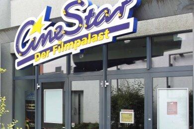 Die Türen des CineStar in der Innenstadt von Crimmitschau bleiben vorerst weiter geschlossen.