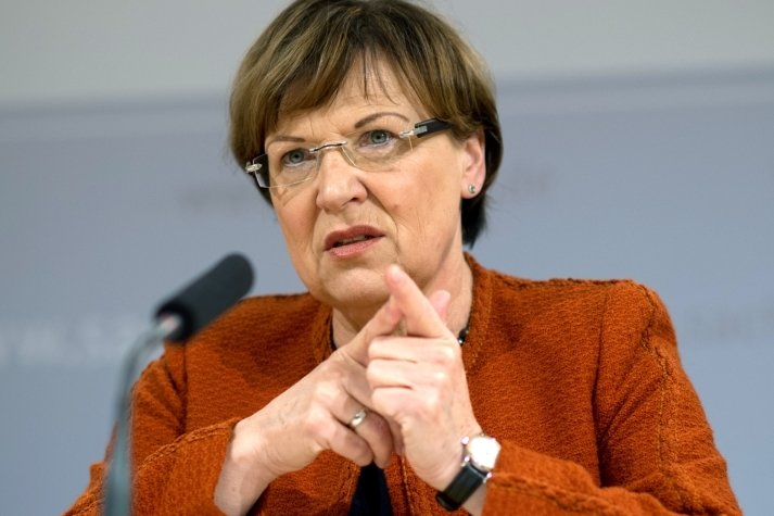 Sachsens Kultusministerin Brunhild Kurth (CDU).