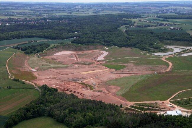 Die Sanierung hat ungefähr genauso lange gedauert wie der Betrieb der Helmsdorfer Anlage.