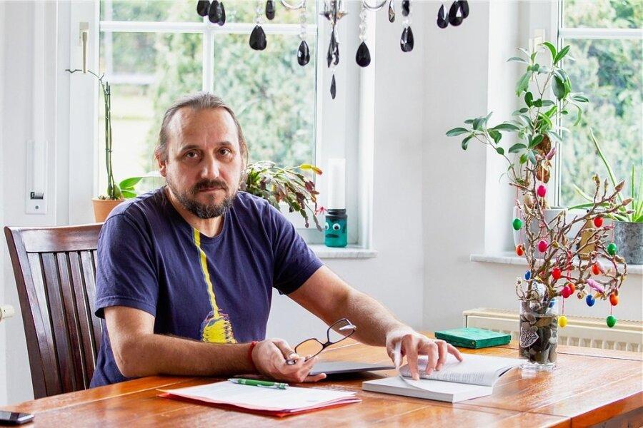 Filmemacher, Allergiker, Corona-Versehrter: Tino Peisker.