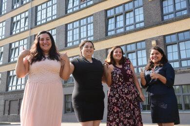 Melissa Aguilera, Ivette Escobar, Ana Gamez und Paola Plascencia aus Mexiko.