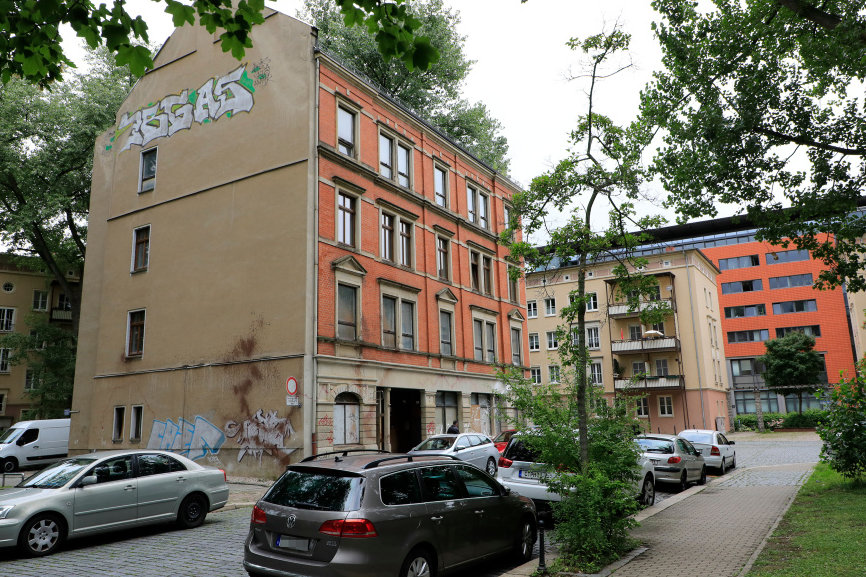 In der Brauhausstraße befindet sich die Anwaltskanzlei von Martin Kohlmann.