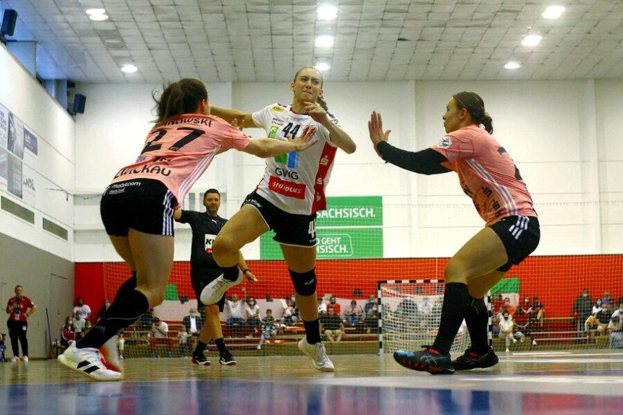 Ein Sieg blieb den Zwickauer Handballerinnen am Samstag verwehrt.