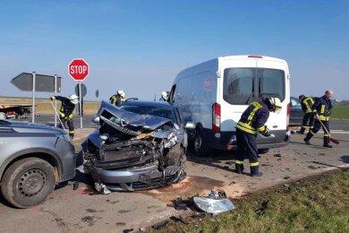 Ein schwerer Unfall hat sich am Donnerstagvormittag auf der S 205 ereignet.