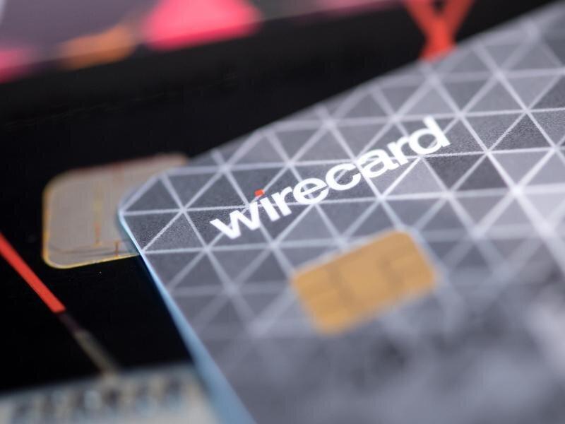 Eine Kreditkarte des Bezahldienstleister Wirecard.