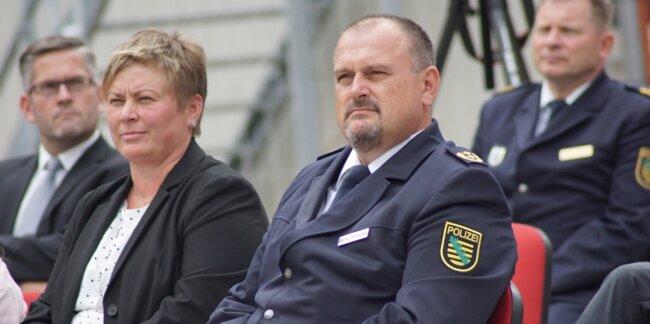Der Leiter der Polizeidirektion Zwickau: Seit 1. Mai im Amt, seit 1. Juli im Dienst und am 4. September feierlich begrüßt.