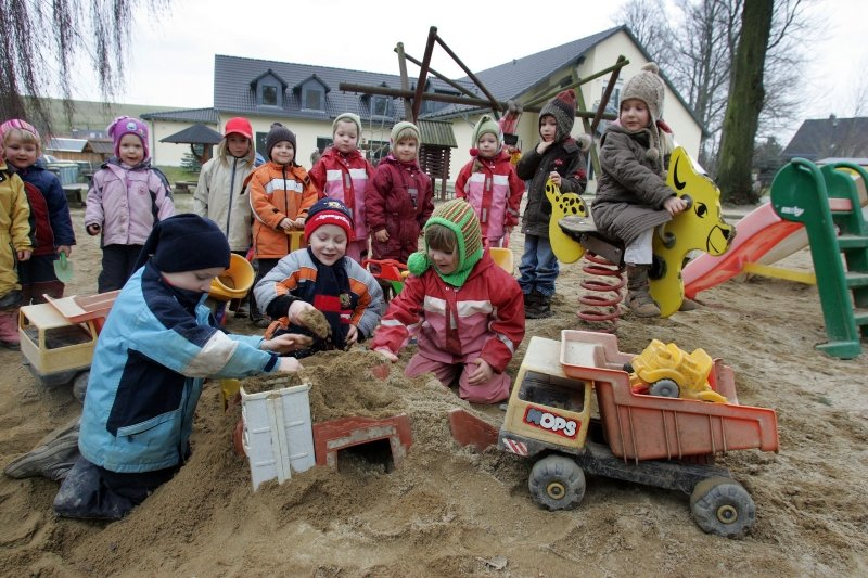 Der Kindergarten Bernsdorf, der in diesem Jahr sein fünfjähriges Bestehen feiert, erfreut sich großer Beliebtheit.