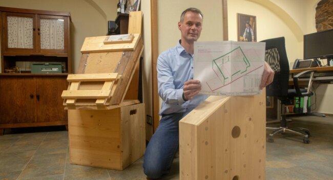 Ralf Kretschmar gründete 2003 sein Holzbauunternehmen.