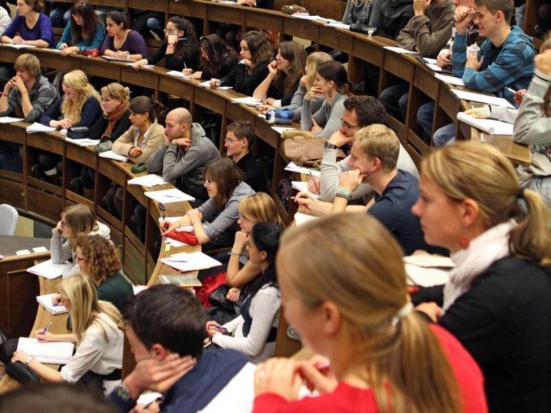 Viele Studienanfänger kommen aus dem Ausland.